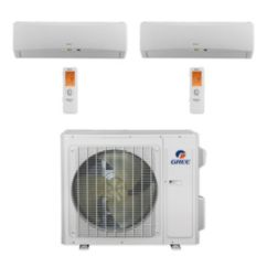 Gree MULTI24CTERRA200 - 24,000 BTU Multi21+ Dual-Zone Wall Mount Mini Split Air Conditioner Heat Pump 208-230V (9-9)