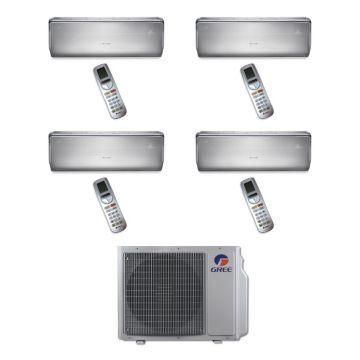 Gree MULTI30BCROWN401 - 30,000 BTU Multi21 Quad-Zone Wall Mounted Mini Split Air Conditioner with Heat Pump 220V (9-9-9-12)