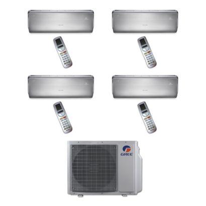 Gree MULTI30BCROWN402 - 30,000 BTU Multi21 Quad-Zone Wall Mount Mini Split Air Conditioner Heat Pump 208-230V (9-9-12-12)