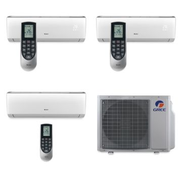 Gree MULTI30BVIR303 - 30,000 BTU Multi21 Tri-Zone Wall Mounted Mini Split Air Conditioner with Heat Pump 220V (9-9-24)