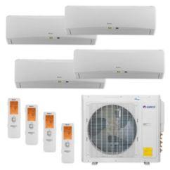 Gree MULTI30CTERRA400 - 30,000 BTU Multi21+ Quad-Zone Wall Mount Mini Split Air Conditioner Heat Pump 208-230V (9-9-9-9)
