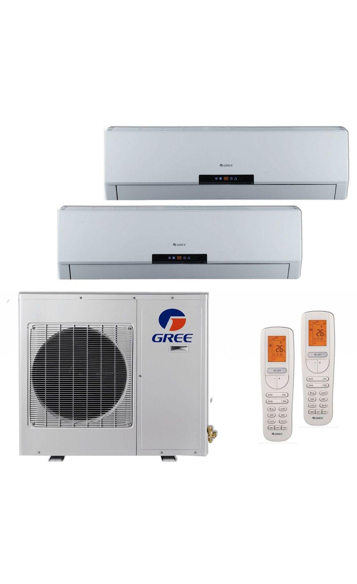 Btu Klimaire Ductless Mini Split Air Conditioner Top 2 100