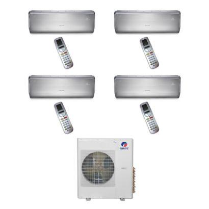 Gree MULTI36BCROWN402 - 36,000 BTU Multi21 Quad-Zone Wall Mount Mini Split Air Conditioner Heat Pump 208-230V (9-9-9-18)