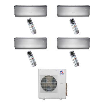 Gree MULTI36BCROWN403 - 36,000 BTU Multi21 Quad-Zone Wall Mounted Mini Split Air Conditioner with Heat Pump 220V (9-9-12-12)