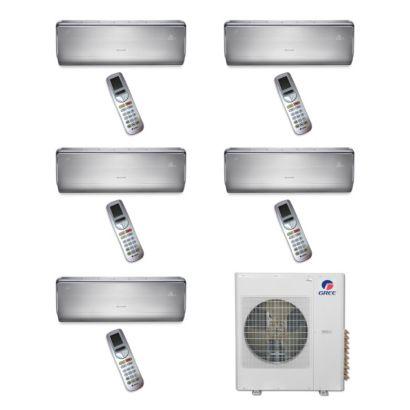 Gree MULTI36BCROWN500 -36,000 BTU Multi21 Penta-Zone Wall Mount Mini Split Air Conditioner Heat Pump 208-230V (9-9-9-9-9)