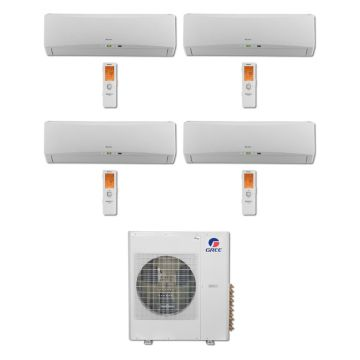 Gree MULTI36BTERRA406-36,000 BTU Multi21 Quad-Zone Wall Mount Mini Split Air Conditioner Heat Pump 208-230V (12-12-12-12)