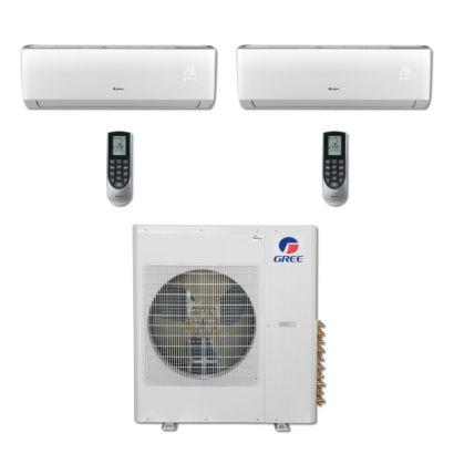Gree MULTI36BVIR208 - 36,000 BTU Multi21 Dual-Zone Wall Mount Mini Split Air Conditioner Heat Pump 208-230V (18-24)