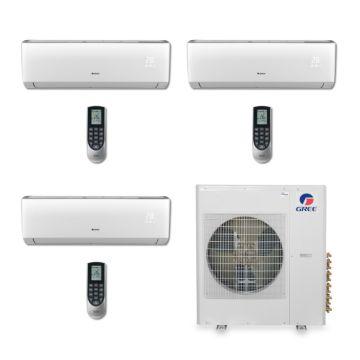Gree MULTI36BVIR305 - 36,000 BTU Multi21 Tri-Zone Wall Mount Mini Split Air Conditioner Heat Pump 208-230V (9-12-18)