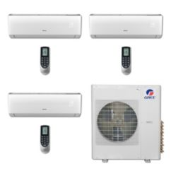 Gree MULTI36BVIR308 - 36,000 BTU Multi21 Tri-Zone Wall Mount Mini Split Air Conditioner Heat Pump 208-230V (12-12-12)