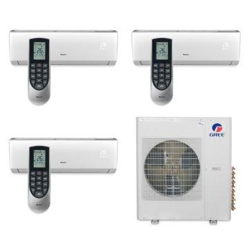 Gree MULTI36BVIR311 - 36,000 BTU Multi21 Tri-Zone Wall Mount Mini Split Air Conditioner Heat Pump 208-230V (12-18-18)
