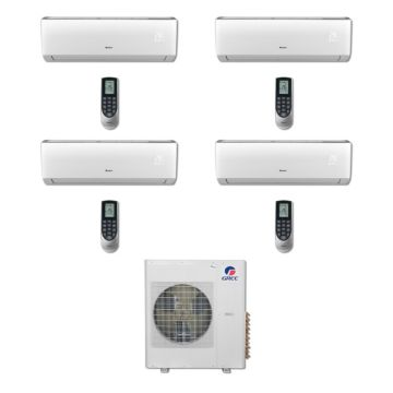 Gree MULTI36BVIR403 - 36,000 BTU Multi21 Quad-Zone Wall Mounted Mini Split Air Conditioner with Heat Pump 220V (9-9-12-12)