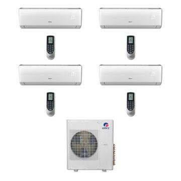Gree MULTI36BVIR403 - 36,000 BTU Multi21 Quad-Zone Wall Mount Mini Split Air Conditioner Heat Pump 208-230V (9-9-12-12)