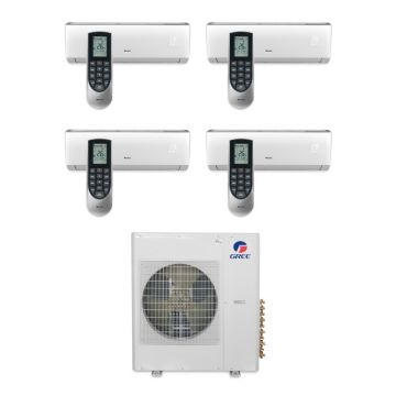 Gree MULTI36BVIR406 - 36,000 BTU Multi21 Quad-Zone Wall Mount Mini Split Air Conditioner Heat Pump 208-230V (12-12-12-12)