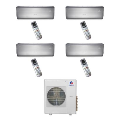 Gree MULTI42BCROWN403 - 42,000 BTU Multi21 Quad-Zone Wall Mount Mini Split Air Conditioner Heat Pump 208-230V (9-9-12-12)