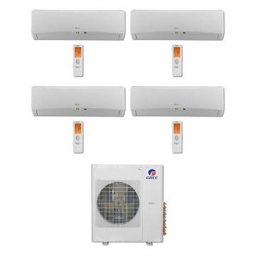 Gree MULTI42BTERRA406 -42,000 BTU Multi21 Quad-Zone Wall Mount Mini Split Air Conditioner Heat Pump 208-230V (9-12-12-18)
