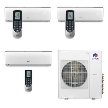 Gree MULTI42BVIR303 - 42,000 BTU Multi21 Tri-Zone Wall Mount Mini Split Air Conditioner Heat Pump 208-230V (9-9-24)