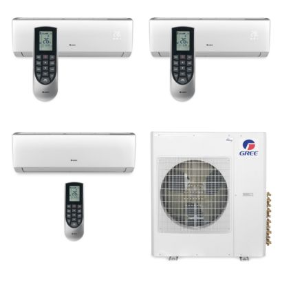 Gree MULTI42BVIR303 - 42,000 BTU Multi21 Tri-Zone Wall Mount Mini Split Air Conditioner Heat Pump 208-230V (9-9-24)