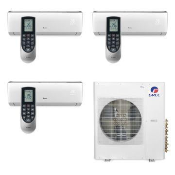 Gree MULTI42BVIR305 - 42,000 BTU Multi21 Tri-Zone Wall Mounted Mini Split Air Conditioner with Heat Pump 220V (9-12-18)