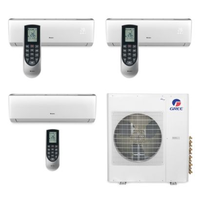 Gree MULTI42BVIR306 - 42,000 BTU Multi21 Tri-Zone Wall Mount Mini Split Air Conditioner Heat Pump 208-230V (9-12-24)