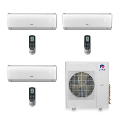 Gree MULTI42BVIR307 - 42,000 BTU Multi21 Tri-Zone Wall Mount Mini Split Air Conditioner Heat Pump 208-230V (9-18-18)