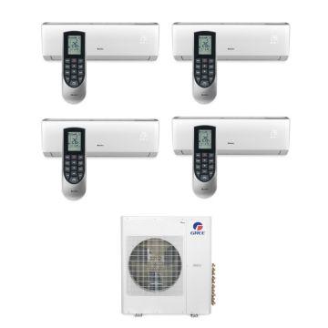 Gree MULTI42BVIR406 - 42,000 BTU Multi21 Quad-Zone Wall Mounted Mini Split Air Conditioner with Heat Pump 220V (9-12-12-18)