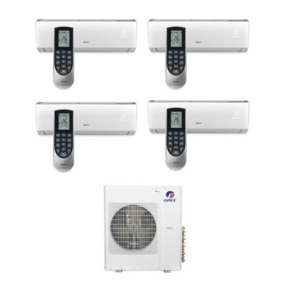 Gree MULTI42BVIR406 - 42,000 BTU Multi21 Quad-Zone Wall Mount Mini Split Air Conditioner Heat Pump 208-230V (9-12-12-18)