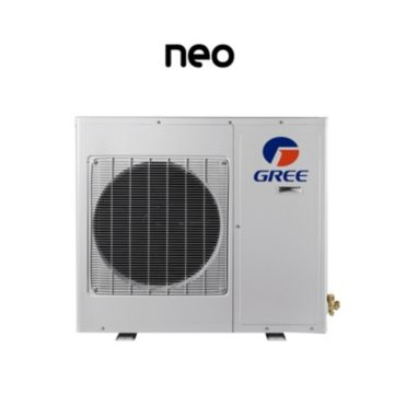 GREE NEO12HP208-230V1AO - 12,000 BTU 20 SEER NEO Ductless Mini Split Heat Pump Outdoor Unit 208-230V