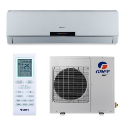 Gree NEO18HP230V1A - 18,000 BTU 18 SEER NEO Wall Mount Ductless Mini Split Air Conditioner Heat Pump 208-230V
