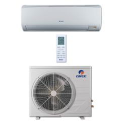 Gree RIO09HP230V1B - 9,000 BTU 16 SEER RIO Wall Mount Ductless Mini Split Air Conditioner Heat Pump 208-230V