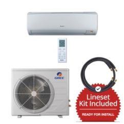 Gree RIO12230-143835 - 12,000 BTU 16 SEER Wall Mount Mini Split Air Conditioner Heat Pump 208-230V & 35' Line Set