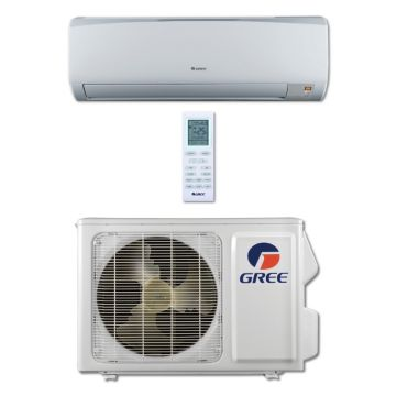 Gree RIO12HP115V1A - 12,000 BTU 16 SEER RIO Wall Mount Mini Split Air Conditioner Heat Pump 115V