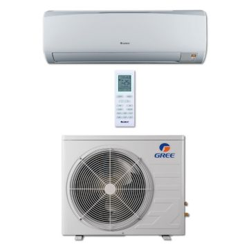 Gree RIO12HP230V1B - 12,000 BTU 16 SEER RIO Wall Mount Ductless Mini Split Air Conditioner Heat Pump 208-230V