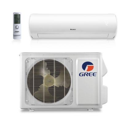 gree btu 38 seer sapphire wall mount ductless mini split air conditioner heat pump 208230v