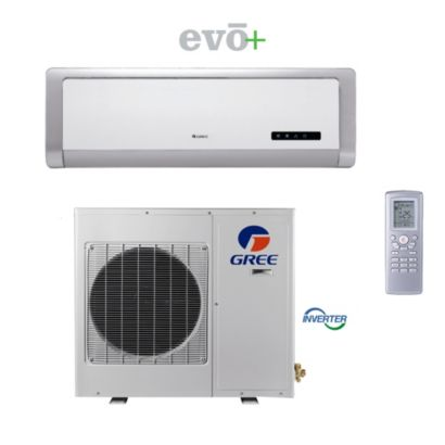GREE GWH12AB-A3DNA2B - 12,000 BTU 22 SEER EVO+ Wall Mount Ductless Mini Split Air Conditioner Heat Pump 115V