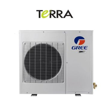 GREE TERRA09HP208-230V1AO -  9,000 BTU 27 SEER TERRA Ductless Mini Split Heat Pump Outdoor Unit 208-230V