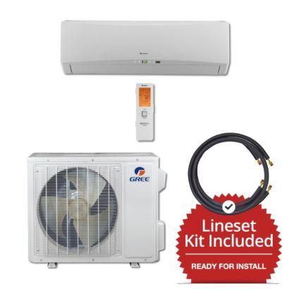 Gree TERRA18230-145850 - 18,000 BTU 21 SEER Wall Mount Mini Split Air Conditioner Heat Pump 208-230V & 50' Line Set