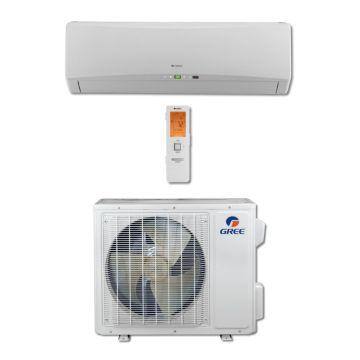 Gree TERRA18HP230V1B - 18,000 BTU 21 SEER TERRA Wall Mounted Ductless Mini Split Air Conditioner with Heat Pump 220V