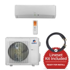 Gree TERRA24230-145825 - 24,000 BTU 21 SEER Wall Mount Mini Split Air Conditioner Heat Pump 208-230V & 25' Line Set