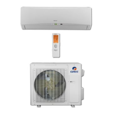 Gree TERRA24HP230V1B - 24,000 BTU 21 SEER Wall Mounted Ductless Mini Split Air Conditioner with Heat Pump 220V
