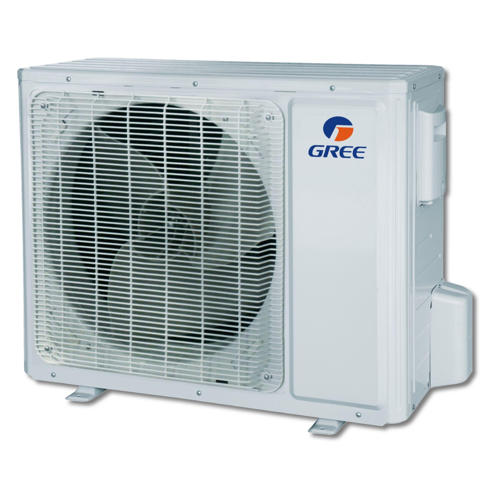 ... Gree UMAT18HP230V1AD-S - 18,000 BTU 16 SEER Concealed Duct Mini Split Air Conditioner Heat