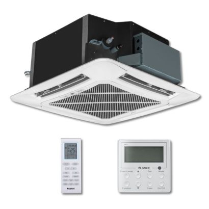 Gree UMAT24HP230V1AC - 24,000 BTU 18 SEER Ceiling Cassette Ductless Mini Split Indoor Unit 208-230V