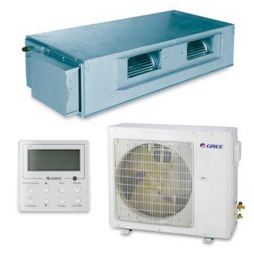 Gree UMAT30HP230V1AD-S - 28,200 BTU 16 SEER Concealed Duct Mini Split Air Conditioner Heat Pump 208-230V