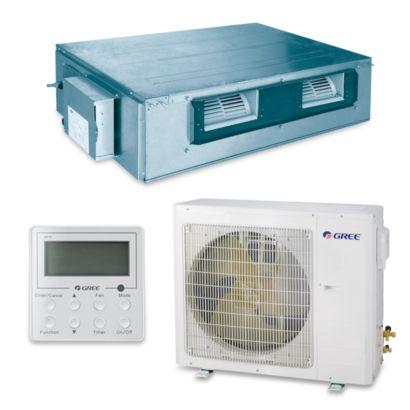 Gree UMAT36HP230V1AD-S - 36,000 BTU 16 SEER Concealed Duct Mini Split Air Conditioner Heat Pump 208-230V