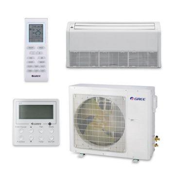 Gree UMAT36HP230V1AF-S - 34,000 BTU 16 SEER Floor Ceiling Ductless Mini Split Air Conditioner Heat Pump 208-230V