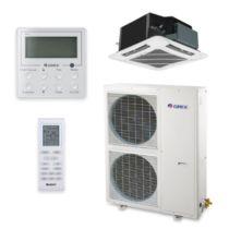 Gree UMAT42HP230V1AC-S - 42,000 BTU 16 SEER Ceiling Cassette Ductless Mini Split Air Conditioner Heat Pump 208-230V