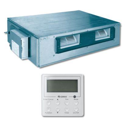 Gree UMAT42HP230V1AD - 42,000 BTU 16 SEER Concealed Duct Ductless Mini Split Indoor Unit 208-230V