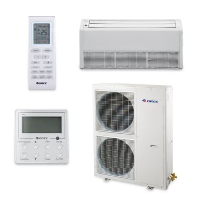 Gree UMAT42HP230V1AF-S - 39,500 BTU 16 SEER Floor Ceiling Ductless Mini Split Air Conditioner Heat Pump 208-230V