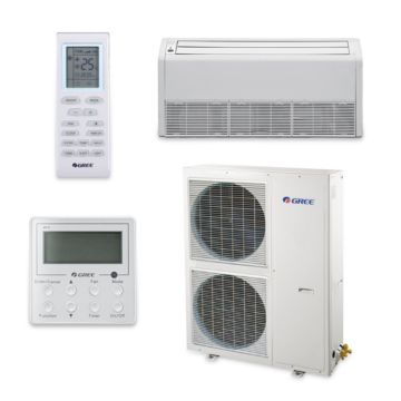 Gree UMAT48HP230V1AF-S - 48,000 BTU 16 SEER Floor Ceiling Ductless Mini Split Air Conditioner Heat Pump 208-230V
