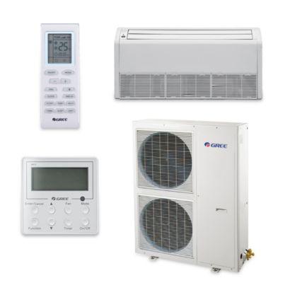 Gree UMAT48HP230V1AF-S - 48,000 BTU 16 SEER Floor Ceiling Ductless Mini Split Air Conditioner Heat Pump 208-230V