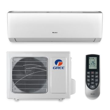 Gree VIR09HP115V1A - 9,000 BTU 23 SEER VIREO Wall Mounted Ductless Mini Split Air Conditioner with Heat Pump 115V